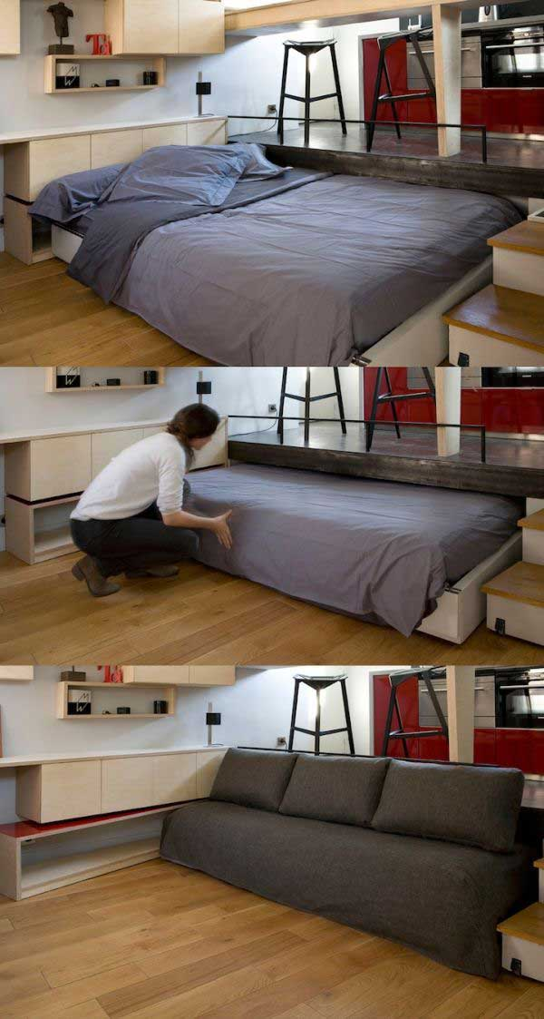 thehandymano the handy mano mano manomano small space solutions diy do it yourself hide away bed tuck