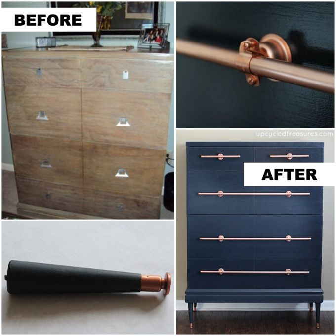 Hacks to Make Your Home Look Expensive the handy mano manomano diy do it yourself dresser chest of drawers upcycle