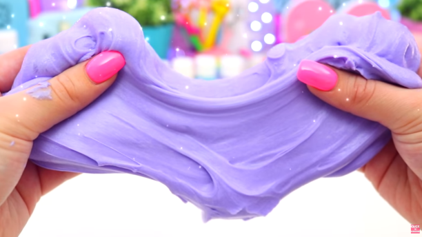 manomano mano mano the handy diy do it yourself how to make slime purple fluffy slime twist
