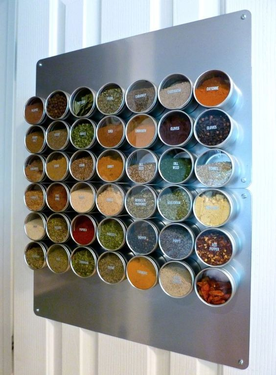 Small Kitchen Storage Solutions the handymano handy mano mano manomano storage hacks kitchen life hacks home clean tidy wine storage easy simple magnetic spice rack