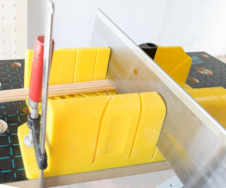 manomano mano mano the handy diy do it yourself projects build make do pegboard miter box saw