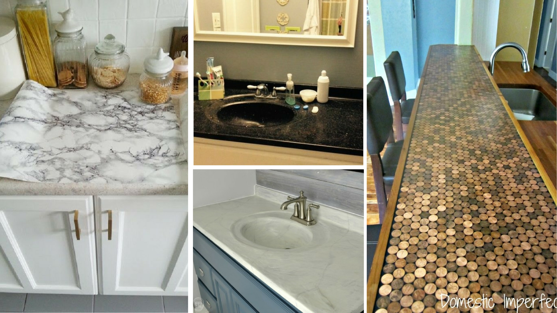 7 ways to redo your countertops without