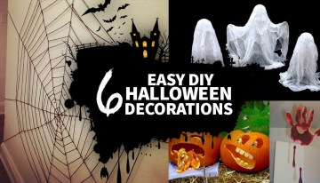 6 Easy Homemade Halloween Decorations