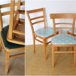 Diy Dining Chairs Makeover Chair Covers Etsy Upholstered The Handy Mano