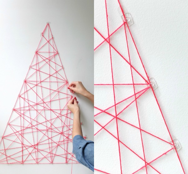 Alternative christmas trees alternative different tree the handy mano manomano mano diy do it yourself festive string