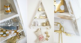 DIY Christmas Tree Shelves – Alternative Christmas Tree