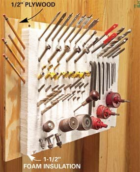 8 Simple and Ingenious Tool Hacks thehandymano the handy mano manomano mano mano screw diy do it yourself home improvement easier simpler storage