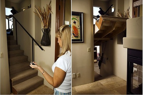 10 Incredible Hidden Doors secret rooms the handy mano manomano flipping flip staircase