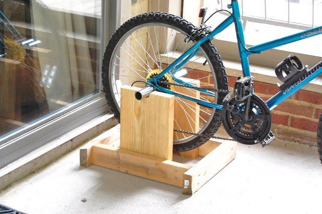 10 Interesting DIY Bike Storage Ideas bike rack indoor display stand hook cool wooden wood