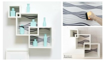 How To Make Intertwining Box Shelves