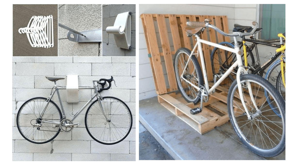 10 Cool DIY Bike Storage Ideas