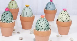 DIY Easter Decorations – Cactus Eggs