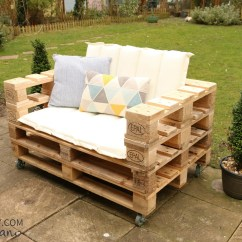 Diy Sofa From Pallets Dog Sofas Couches Pallet Chair The Handy Mano