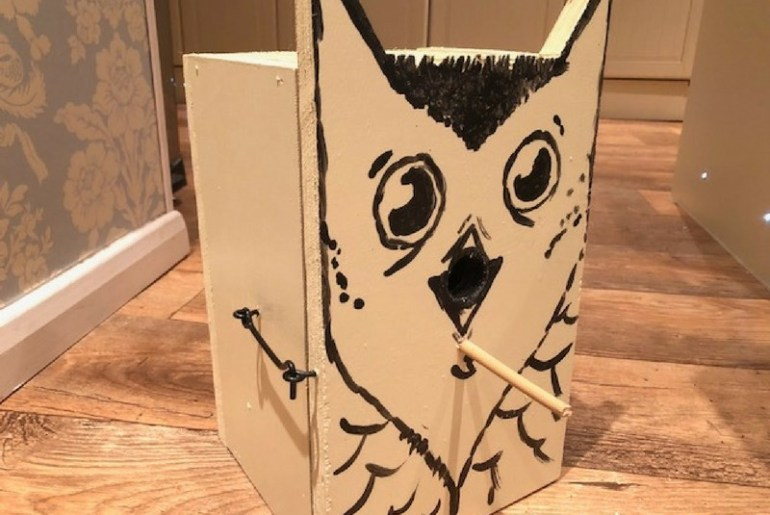 bird box design ideas wooden bird box the handy mano manomano diy owl bird box