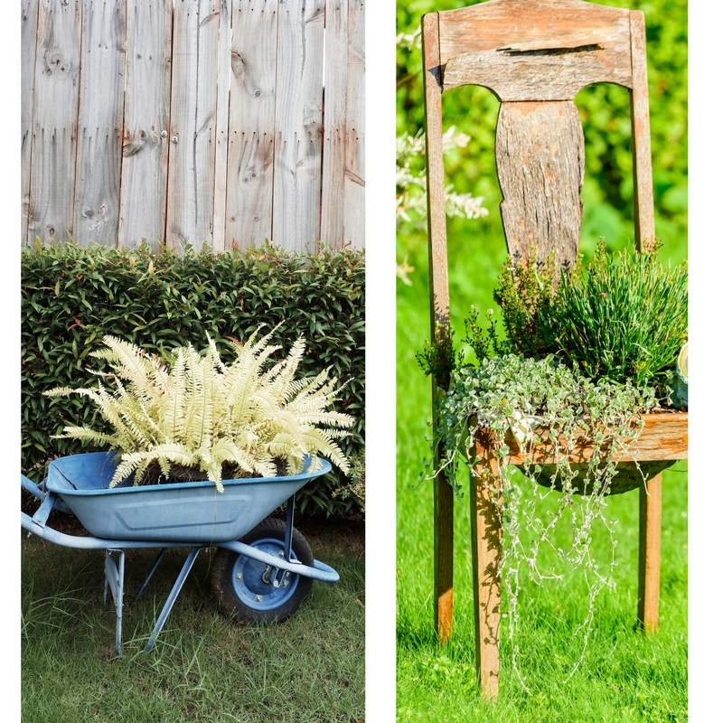 Garden Design - Spring Garden Planter Ideas