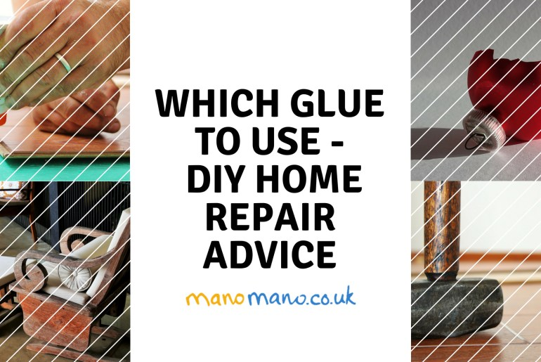 thehandymano mano mano diy which glue to use repairs guide