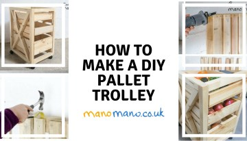 How to Make a DIY Pallet Trolley