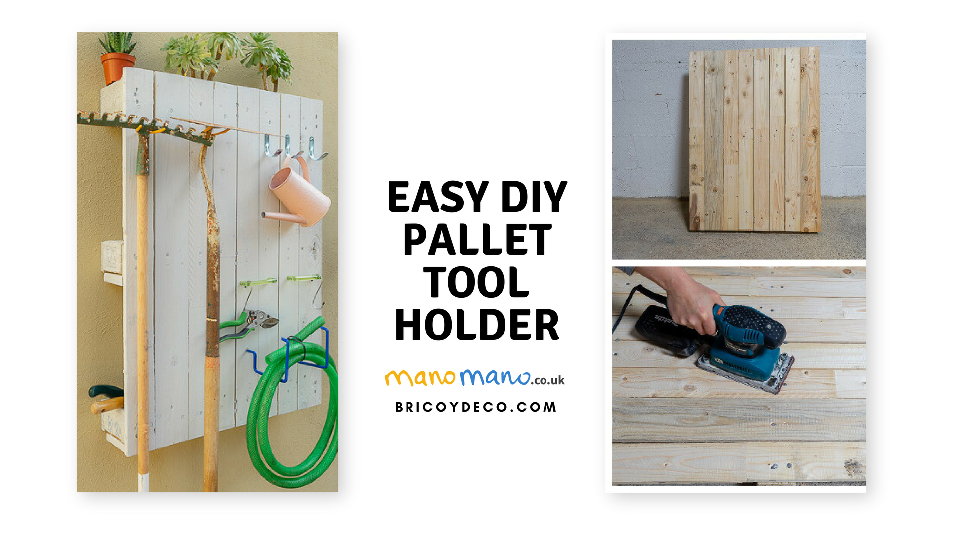 easy pallet projects diy tool organiser