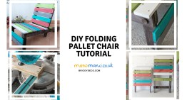 Folding DIY Pallet Chair Tutorial
