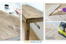 pallet table DIY tutorial thehandymano mano