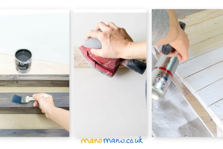 DIY pallet painting tips the handy mano mano title