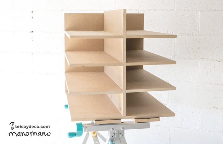 thehandymano mano mano DIY Shoe Storage for your wardrobe wood assemble