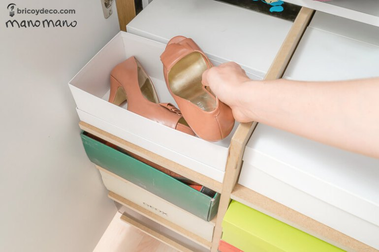 thehandymano mano mano DIY Shoe Storage for your wardrobe cover