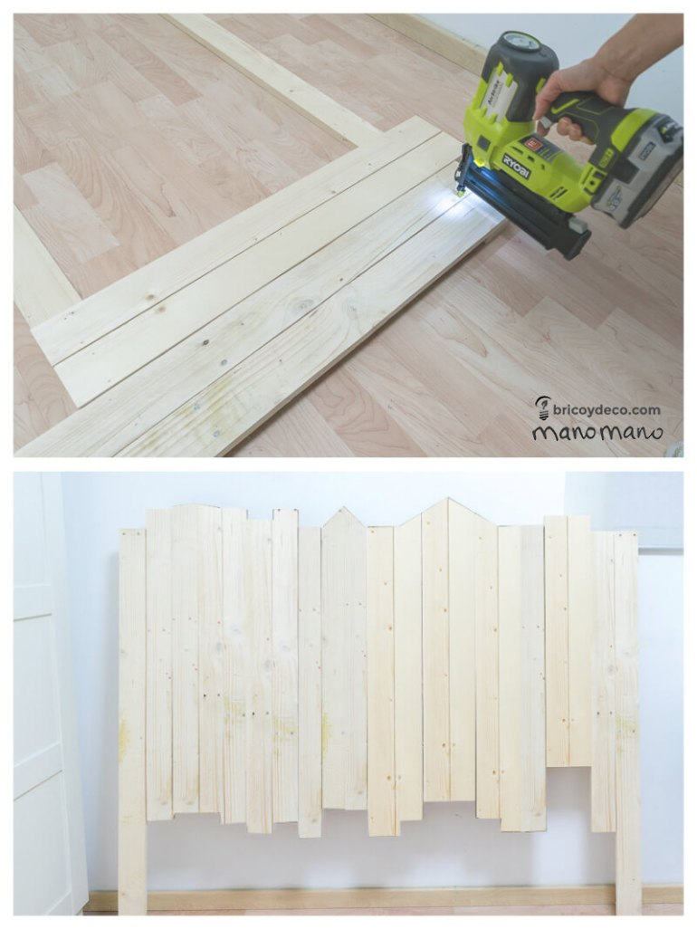 manomano mano the handy mano headboard tutorial drill pallet assembly