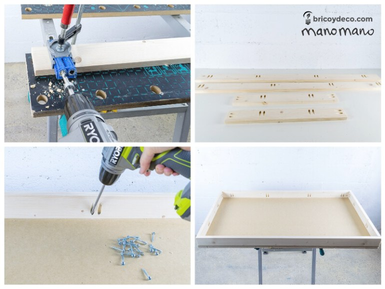 DIY Pallet Table the handy mano mano tutorial use pocket hole jig