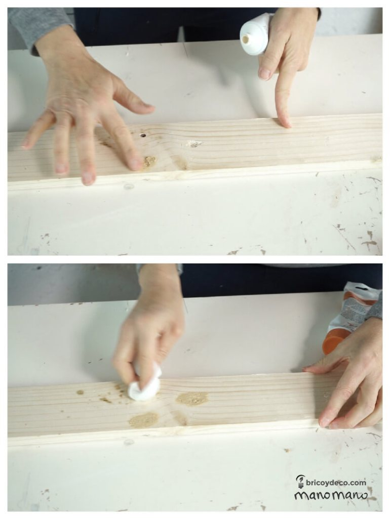 thehandymano mano Outdoor Storage Bench DIY tutorial fill holes