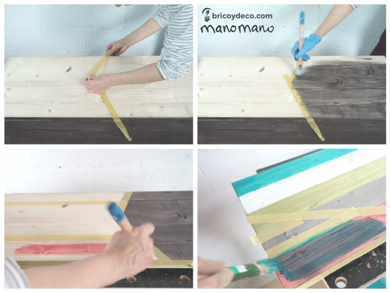 thehandymano mano Outdoor Storage Bench DIY tutorial decorate lid