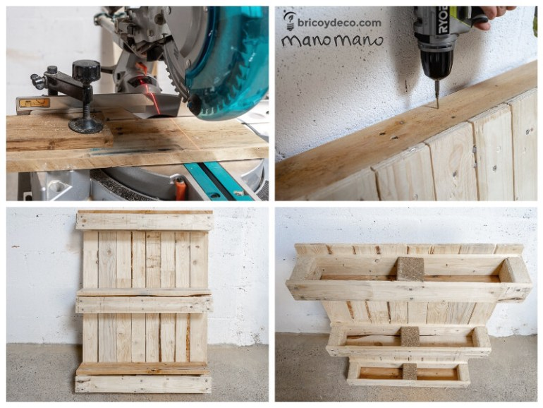 easy pallet projects thehandymano mano mano assembling
