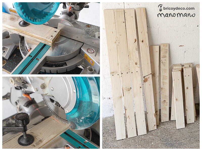 mano mano thehandymano mano uk diy DIY Pallet Chair tutorial cut the parts