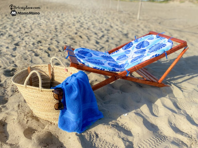 silla de playa plegable