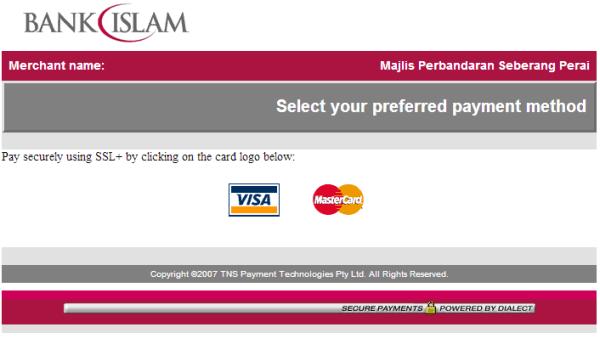 mpsp pay saman credit card