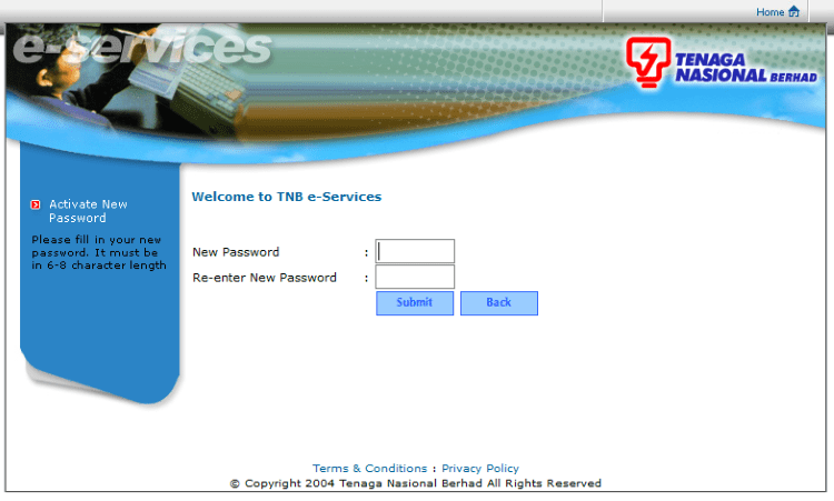 how to pay tnb online