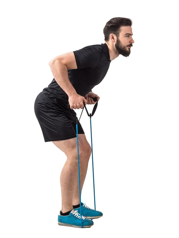 bent-over-row-living-room-resistance-bands