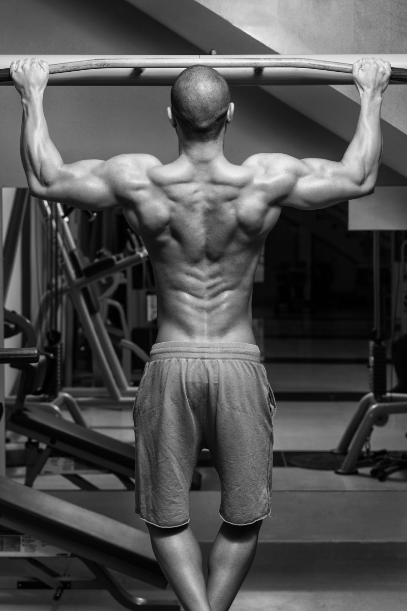 exercises that will help competitive swimmers pull ups