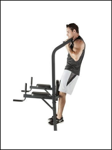 marcy power tower reverse grip pull-ups