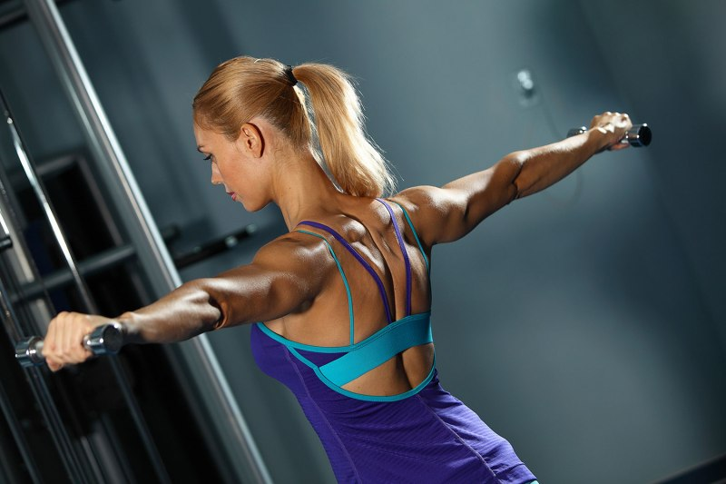 48 shoulder blasting routine 4 standing lateral raises