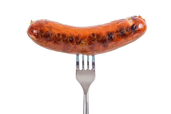 Sausages is One of the Foods to Avoid if Trying to Gain Muscles.