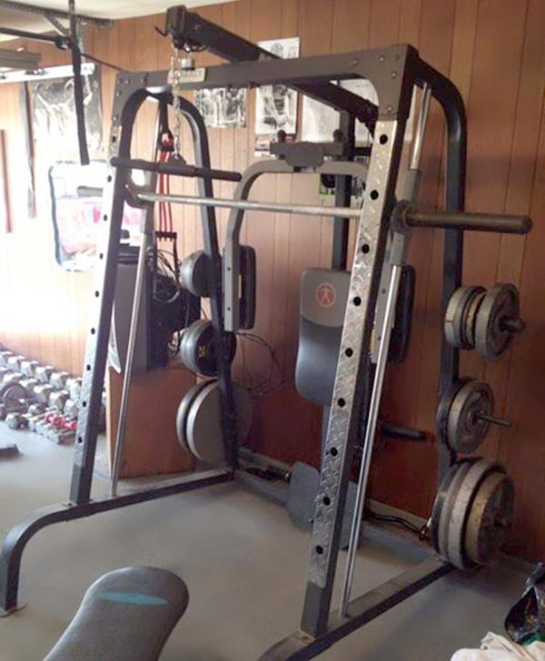 Marcy Smith Machine Home Gym MD-9010
