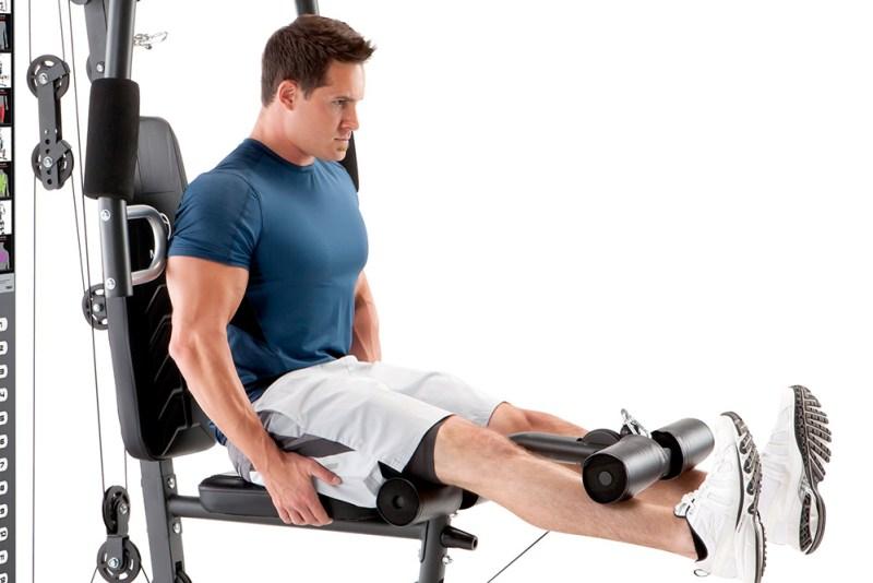 Marcy 150lb Stack Home Gym MWM-4965 Leg Developer Leg Extensions