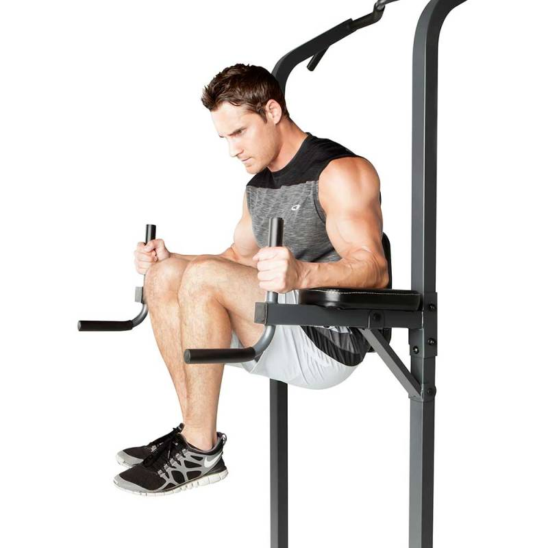 Marcy Power Tower for Body Weight Exercises - Vertical Knee Raises