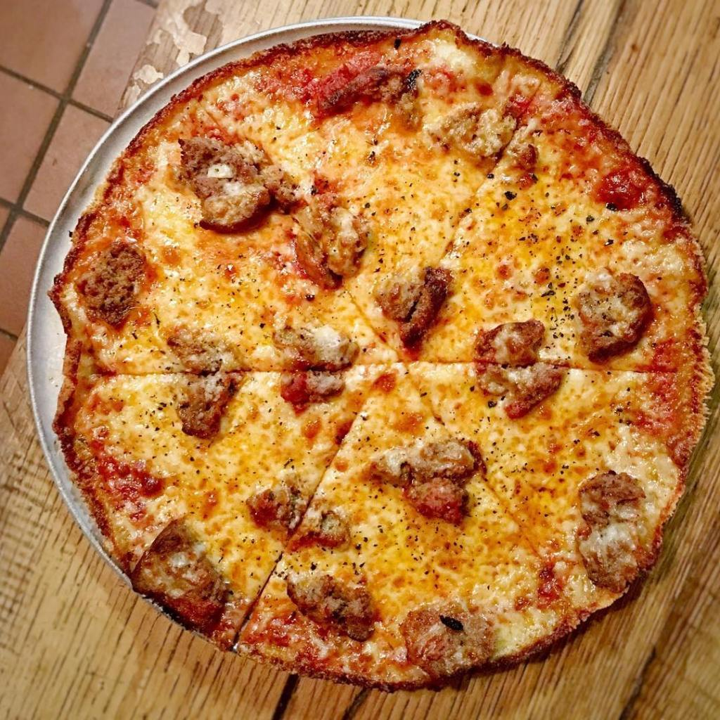 Rao's Meatball Pizza at Margot's Pizza