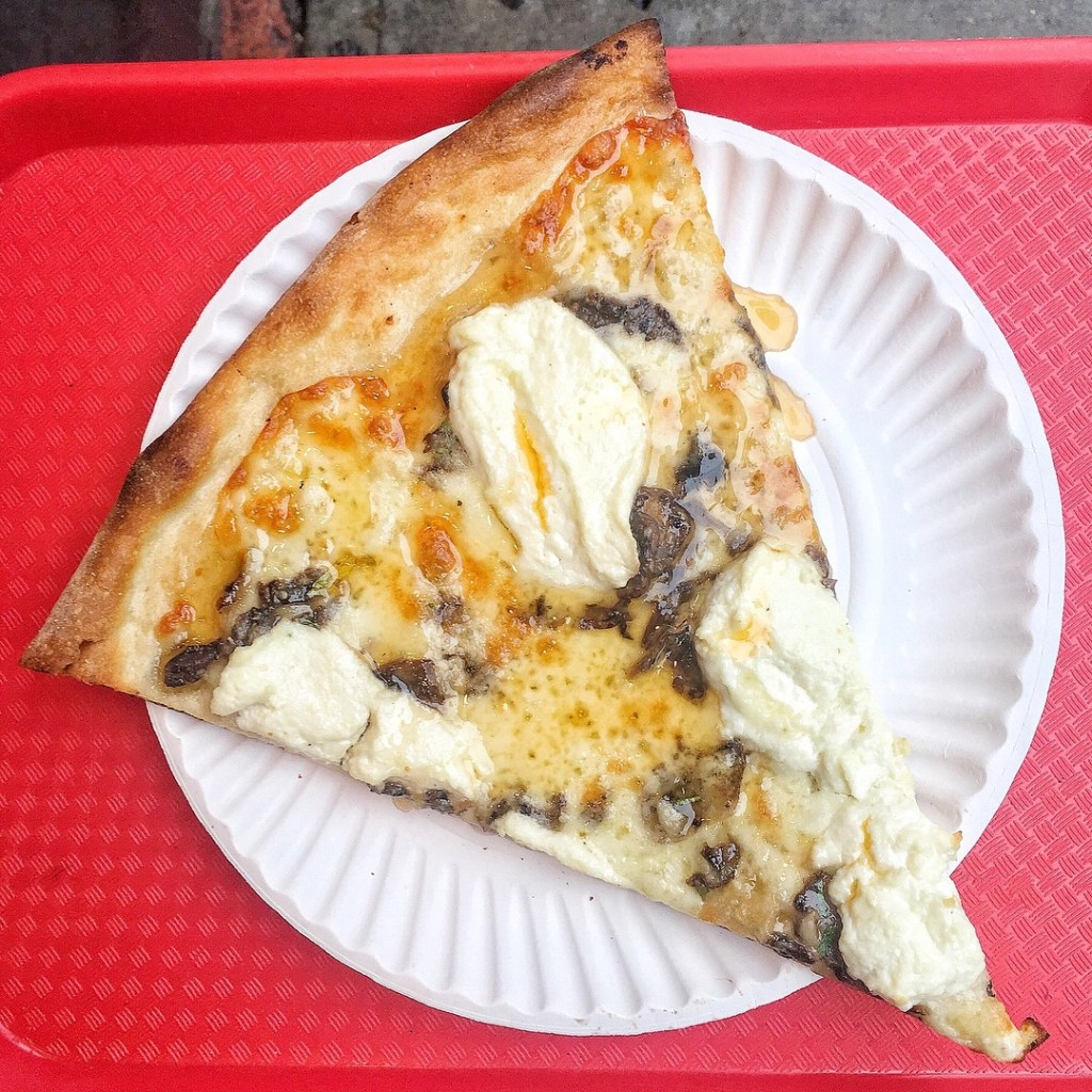 Hot Honey Pizza Slice at NY Pizza Suprema