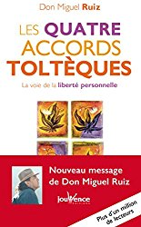 Couverture Les 4 accords toltèques