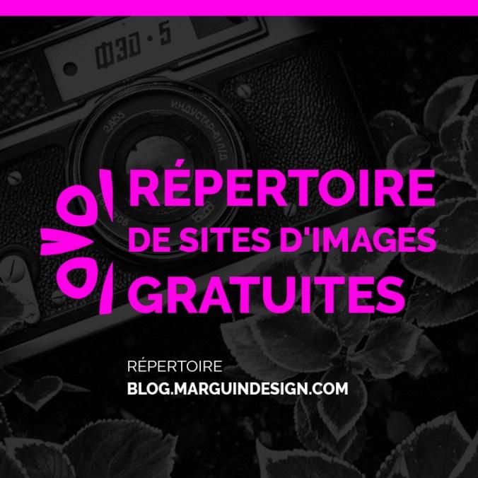 repertoire de sites d images gratuites