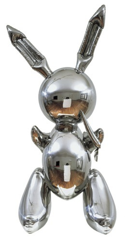 """Rabbit"" Jeff Koons 1986 Stainless Steel 41 x 19 x 12 inches"