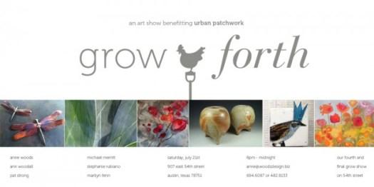 Grow Forth invitation